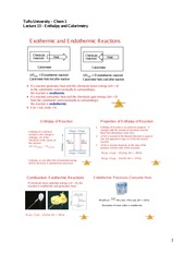 Lecture13_Enthalpy and Calorimetry
