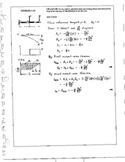 1110_Mechanics Homework Mechanics of Materials Solution