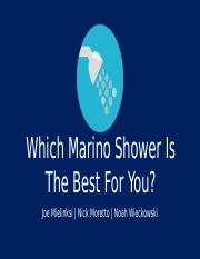 Which Shower Is Best For You.pptx