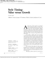 Asness, Friedman, Krail, and Liew _2000_ - Style Timing Value versus Growth.pdf