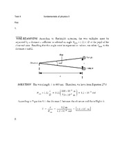 Physics 2 notes tests solutions