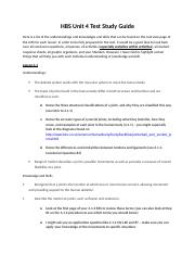 HBS Unit 4 Test Study Guide.docx