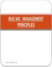 BUS 342 Chapter 2 N