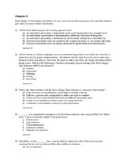 organizational_behavior_chapter_5_quiz