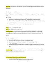 principles of selling ch 4 notes