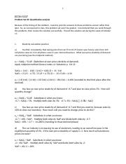 Problem Set 3 solutions recommended problems