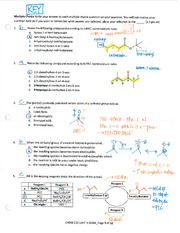 KEY_Chem 213_Spring 2014_Unit 3 Exam