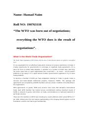 Accession to WTO by Hamad naim 190763118.doc