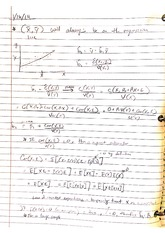 Class notes - Multiple Regressions