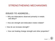 6 Strengthening Mechanism