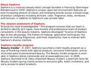 18.11 Overview of Sephora