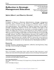 Journal of Management Education-2015-Albert-650-69