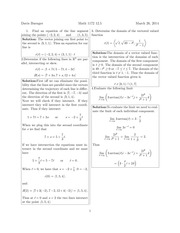 Math 1172 12.5 Solutions Sp 2014