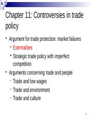 Chapter 11 Controversies in Trade Policy.pptx
