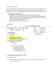 Study Guide for Bib Lit I Test 2.docx