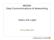 MIS365 3 - Data Link Layer
