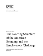 CFR Structural Issues of the American Economy