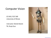 Lecture 01 - Introduction - Vision_Spring2012