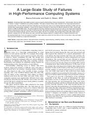 A Large-Scale Study of Failures in High-Performance Computing Systems.pdf