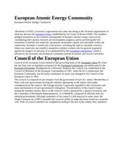European Atomic Energy Community