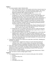 AAAS 280A Chapter 7 and 8 Notes
