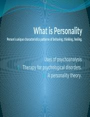 ppt of psy 100 on personality  (1).pptx