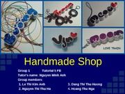 Handmade Shop_Love Train