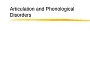 articulation and phonological disorders csd sec2
