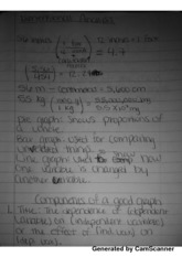Dimensional Analysis Notes & Process Project #3 & Density Notes & More Measurement Notes