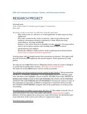 Research Project DRM 101(2) (3)