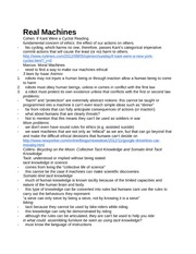 Final Review Note-Real Machines
