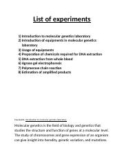 List of experiments.docx