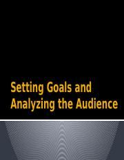 Setting Goals and Analyzing the Audience.pptx