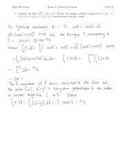 exam4-Review-Solutions