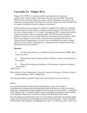 case study keflavik paper company
