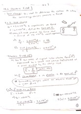 18.6 Electric Field notes