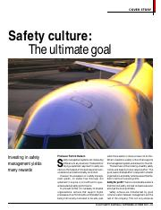 5 Safety Culture (P Hudson)