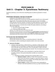 PSYC2400R.Chapter5.Eyewitness Testimony.docx