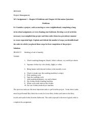 BUSS420 W5 Assignment 1 Chapter 9 Problems and Chapter 10 Discussion Questions.docx