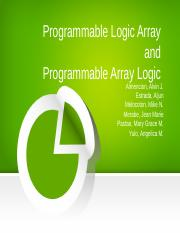 Programmable Logic Array