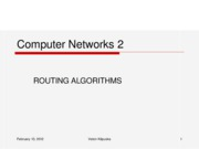 Routing Algorithms-old