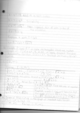 Math 171 Class Notes- x = y^2-9