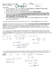 Test 1 Linear Functions, Linear regression lines, compound and simple interest formulas, supply and