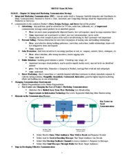 MKT337 - Exam III Notes