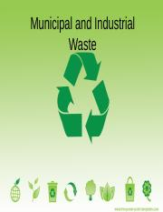 Municipal and Industrial Waste.ppt