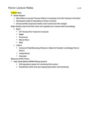 Course Notes_The Exorcist Discussion
