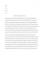 thesis statement for the open boat