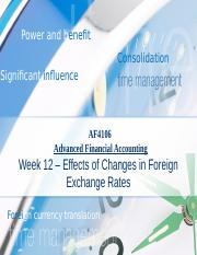 Lecture12 - Effects of Changes in Foreign Exchange Rates.pptx