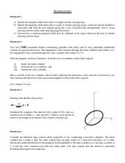 magnetostatics problems.pdf