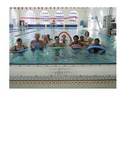 Water Aerobics Poster